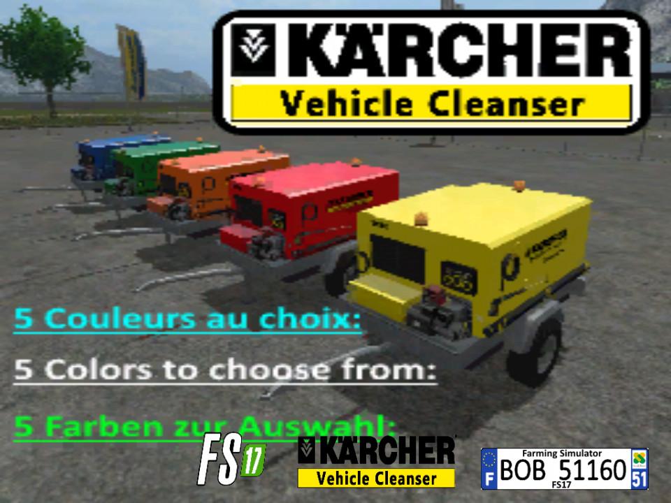 FS17 Kaercher Mobile HPW By BOB51160
