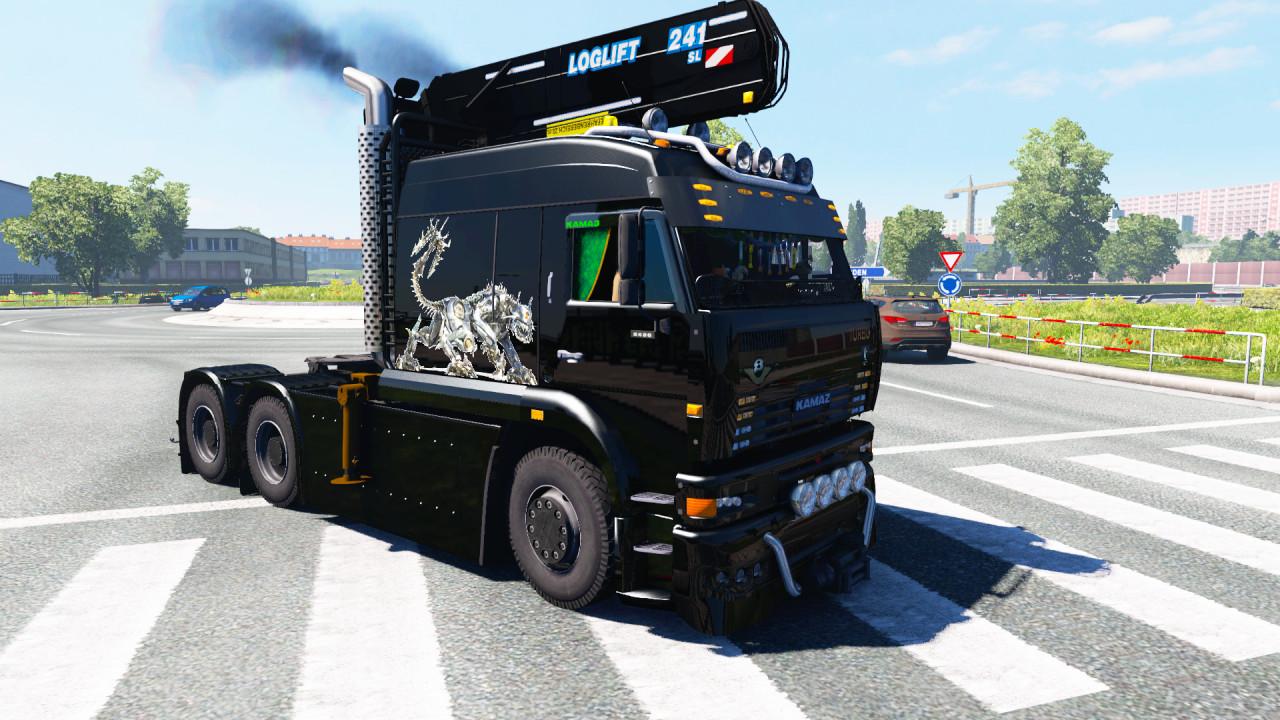 Kamaz 6460 TURBO DIESEL V8