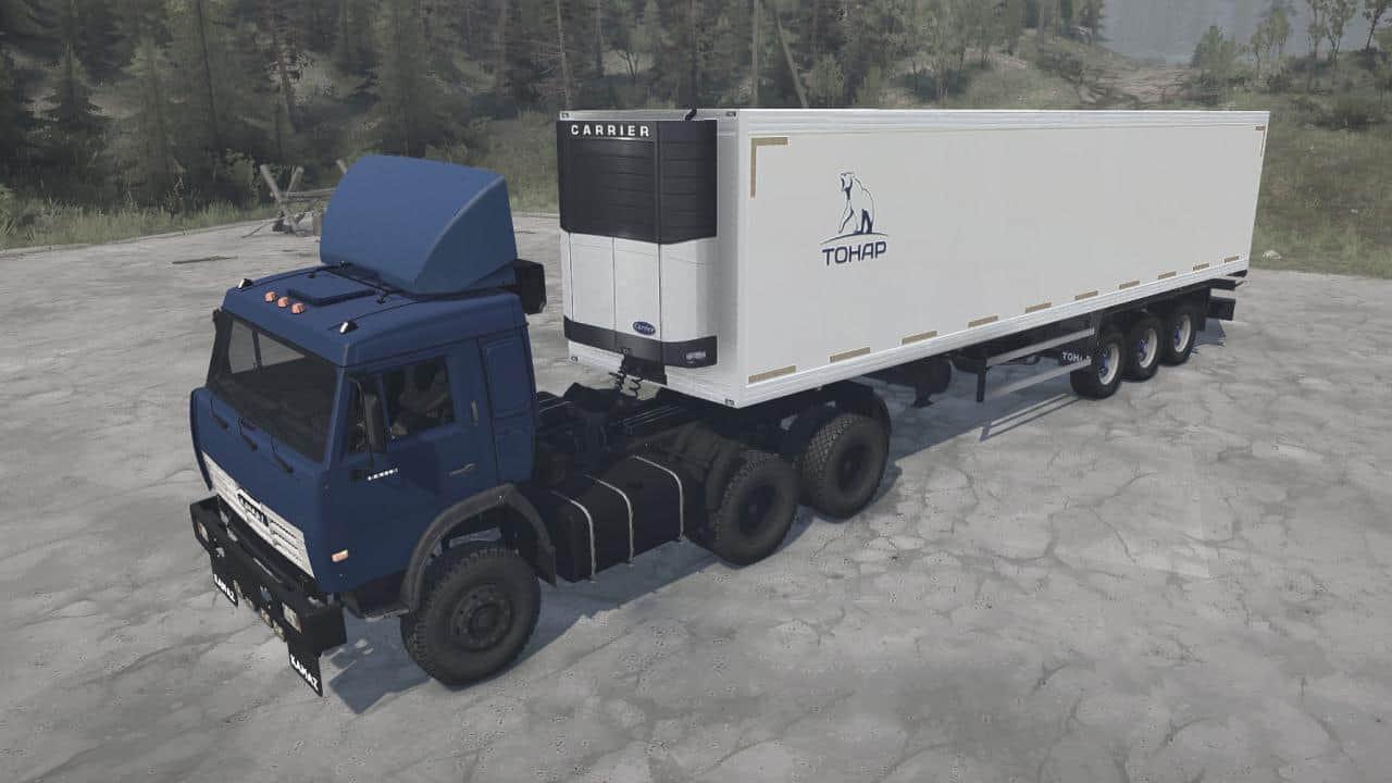 KamAZ-54115 Truck