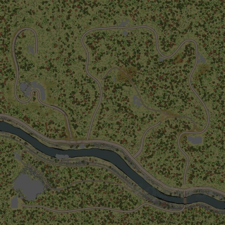 "Map ""Taiga"""