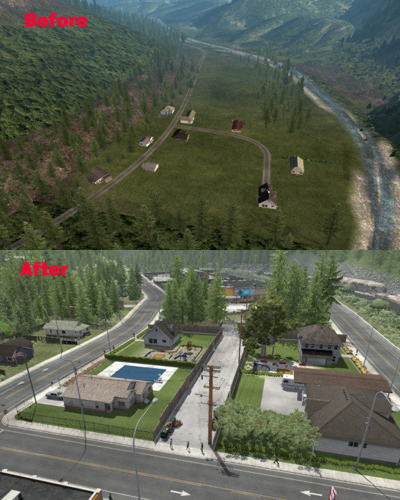 SCS map improvements - now with the connector for ProMods Canada