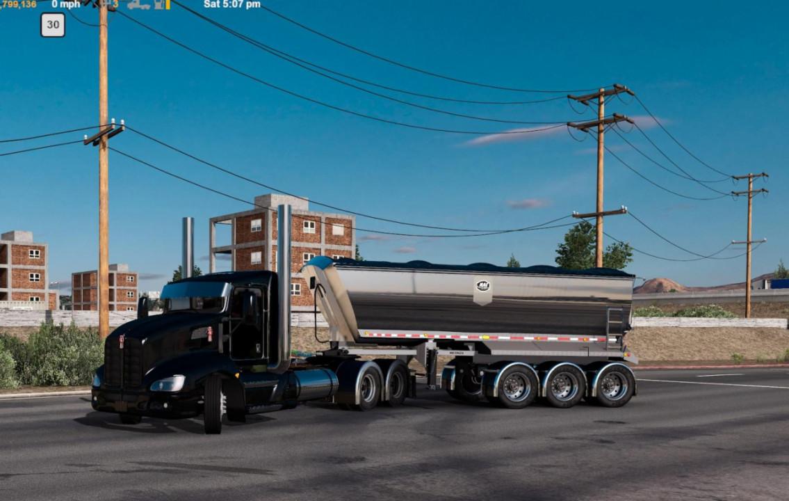 Macsimizer dump trailer ownable 20ft 1.39