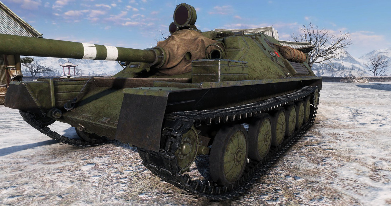[replaceAnyTank] ASU-85 from WT