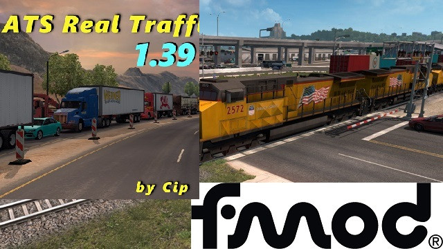 Real Traffic Density by Cip addon for mod Improved Trains