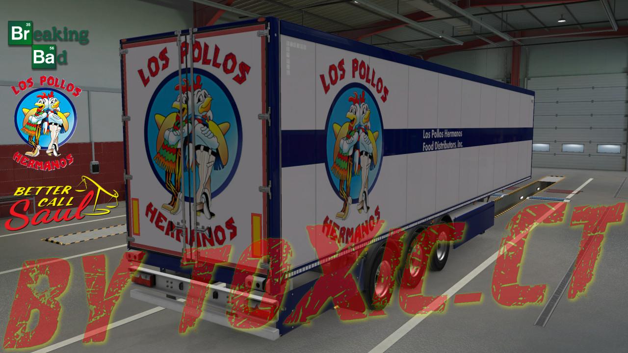 Los Pollos Hermanos skin trailer v2.0.1