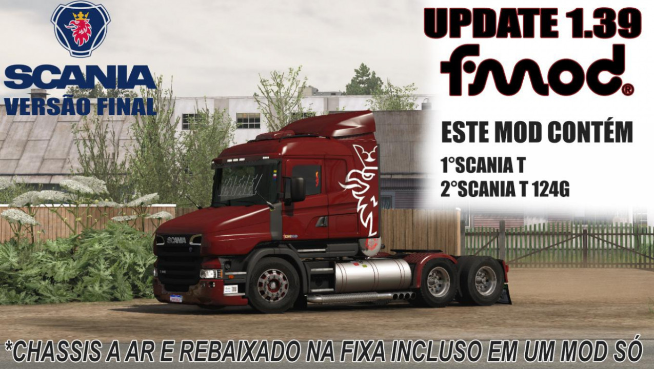 SCANIA T AND T 124G BRAZIL EDIT