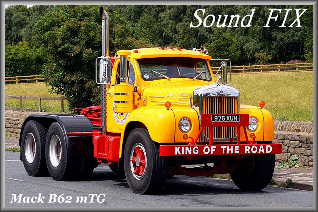 Sound fix for Mack B62 mTG (ATS)