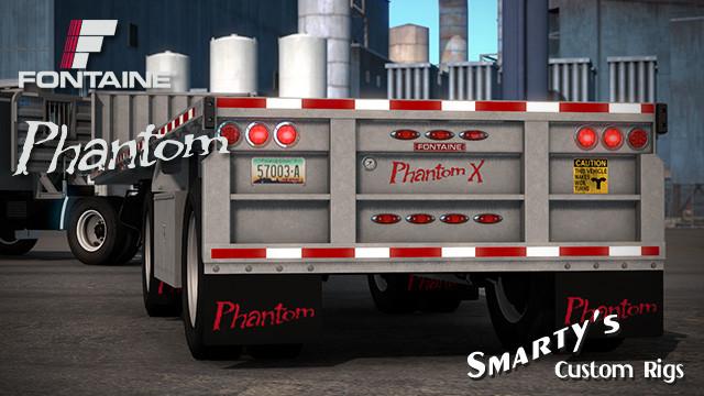 Fontaine Phantom 48x102 Trailer