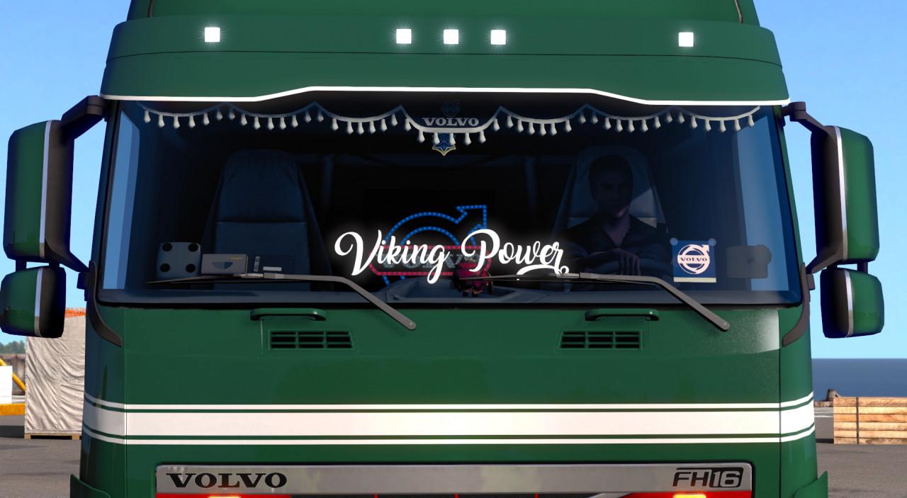 SMG Volvo - Viking Power Sticker