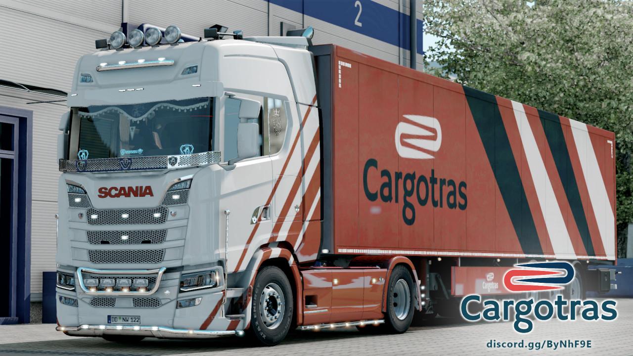 Scania S VTC CARGOTRAS Truckers MP