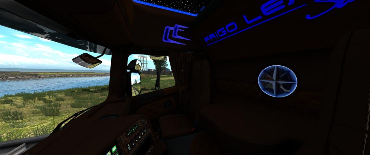 Scania RJL Interior Frigo Leader Sarantos Style