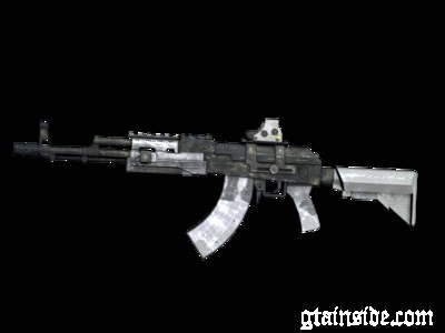 AK47+Holographic sight