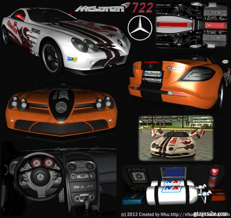 Mercedes SLR McLaren 722 Edition Final