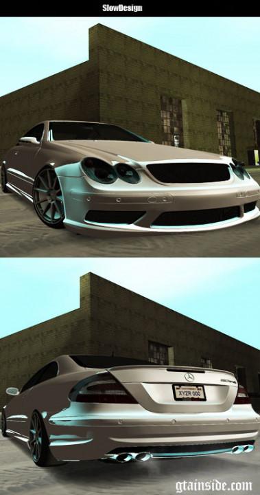 2003 Mercedes Benz CLK55 AMG