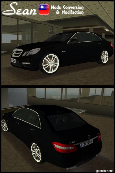 Mercedes-Benz E63 AMG (with Brabus Monoblock S rim)