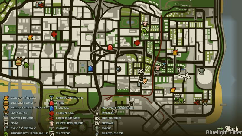 More Icons in SA Map for Android