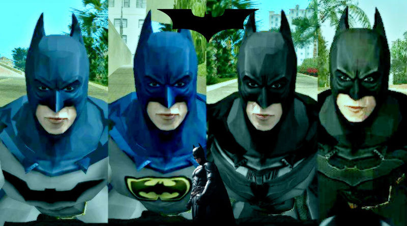 Batman Begins Skin Pack