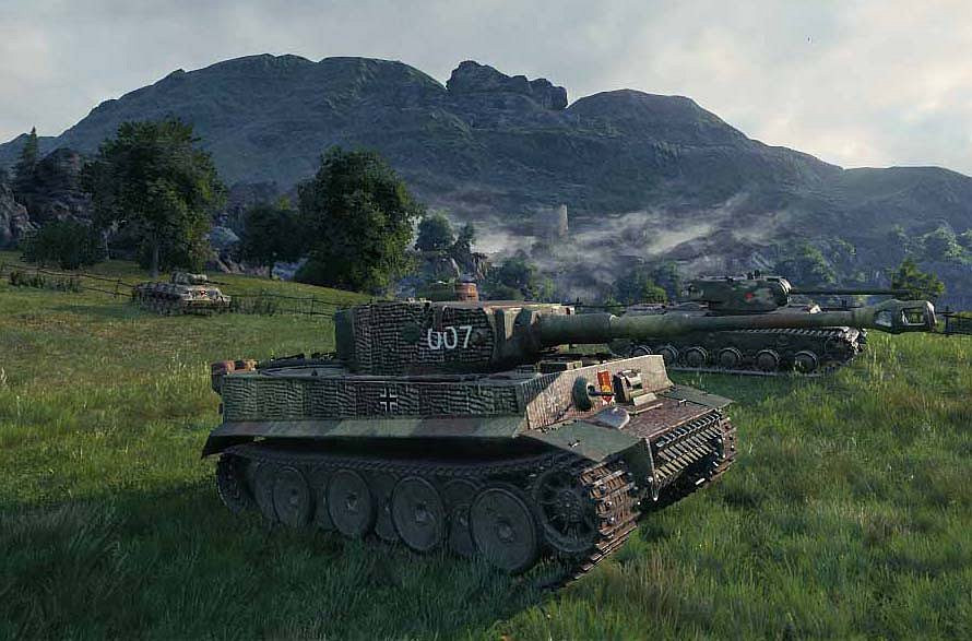 Hortmanen's: Tiger Ace Michael Wittmann's Tiger (Reskin for Tiger 131)