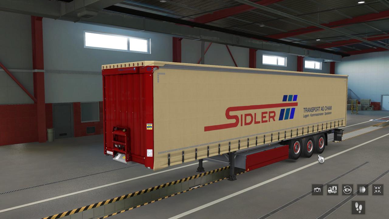 Sidler Transport AG Krone Profiliner