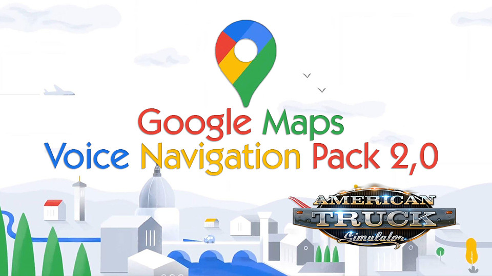 Google Maps  Voice Navigation Pack