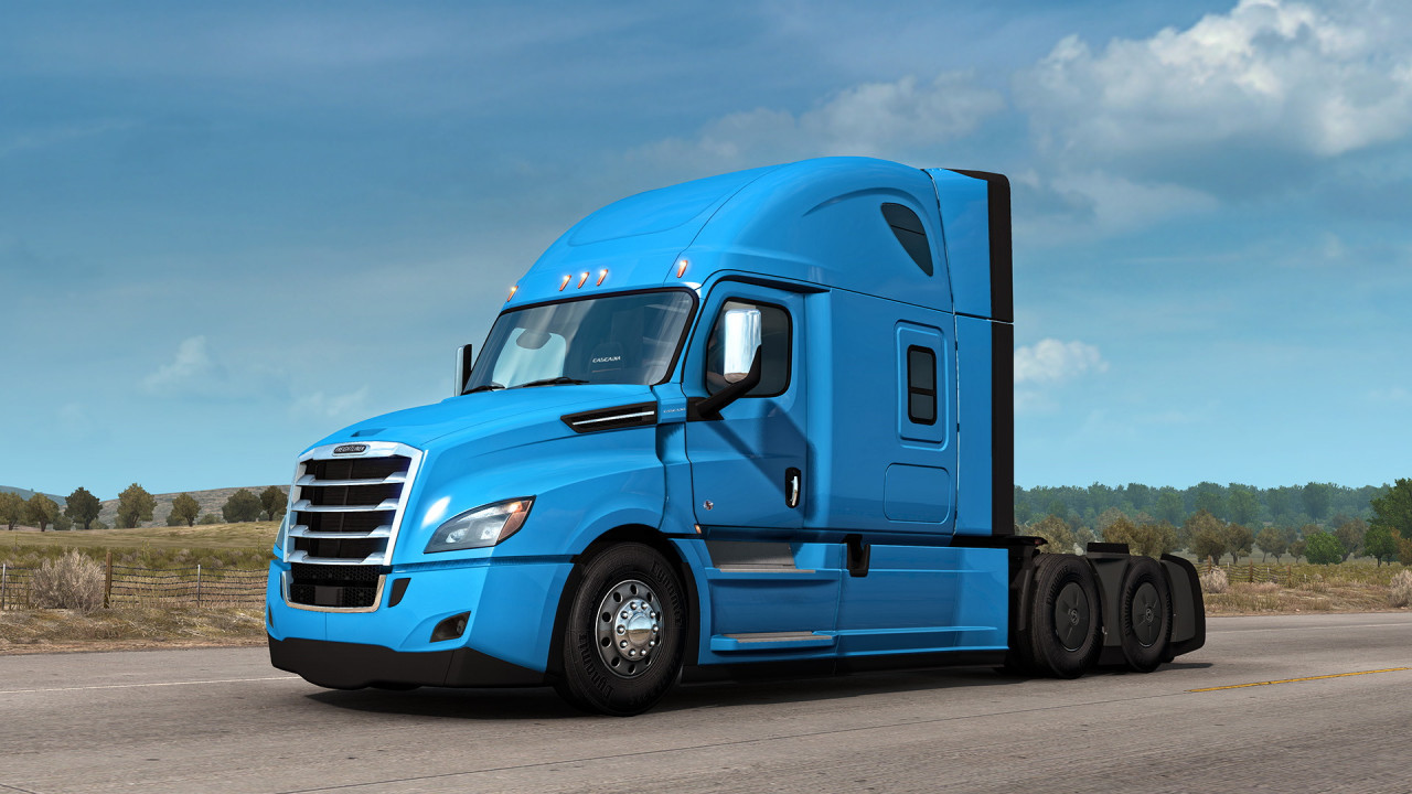 Cascadia air horn sound for all SCS trucks