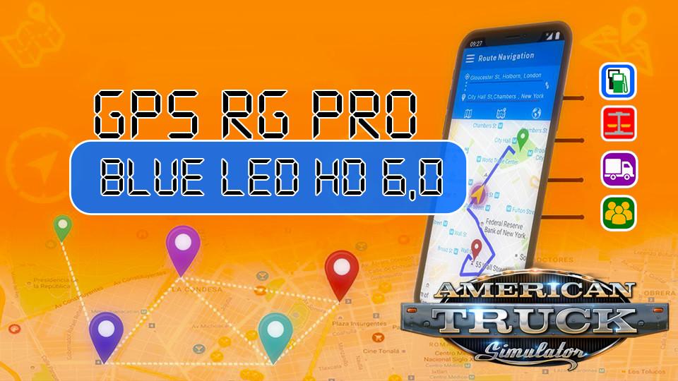 GPS RG PRO BLUE LED HD