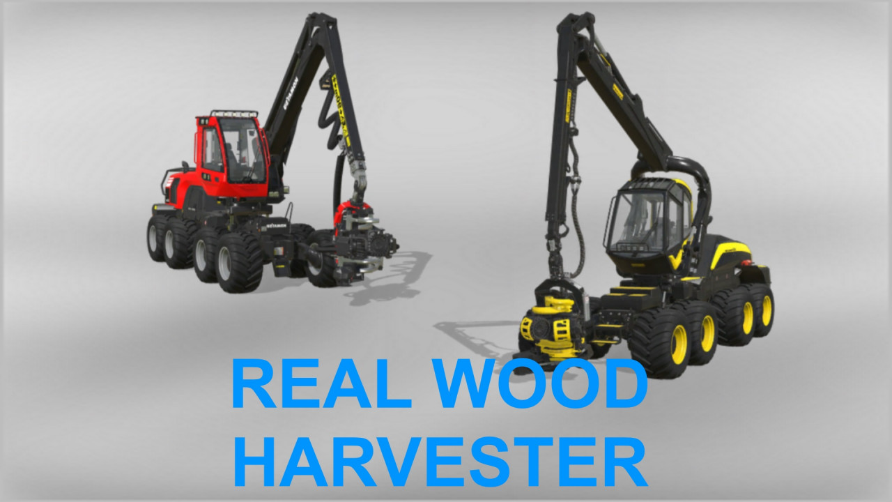 Real Wood Harvester
