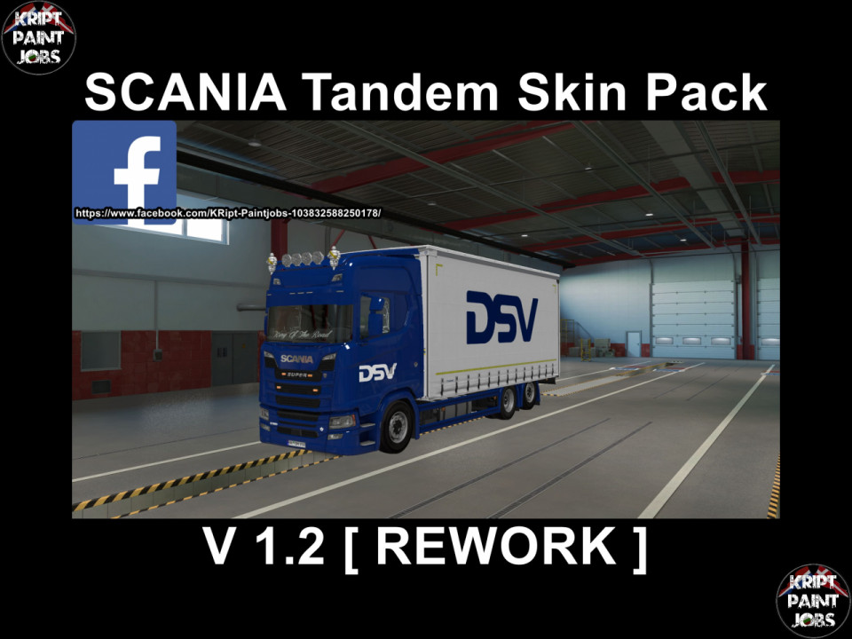 Scania S Krone Tandem BIG Pack [Rework]