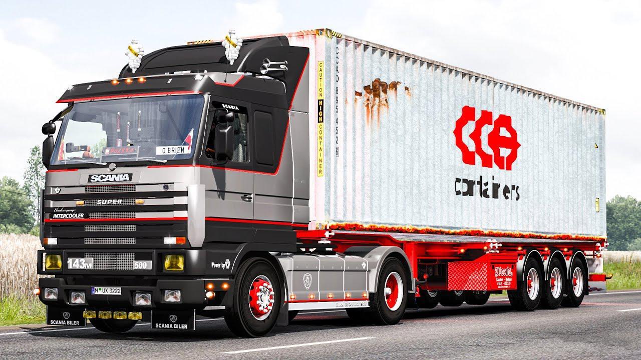 Scania 143 - Improvements by Mango