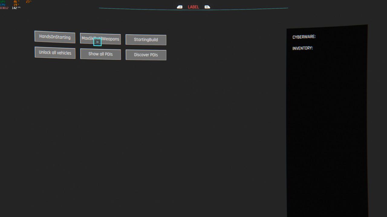 Cyber Engine Tweaks (Performance Overhaul)