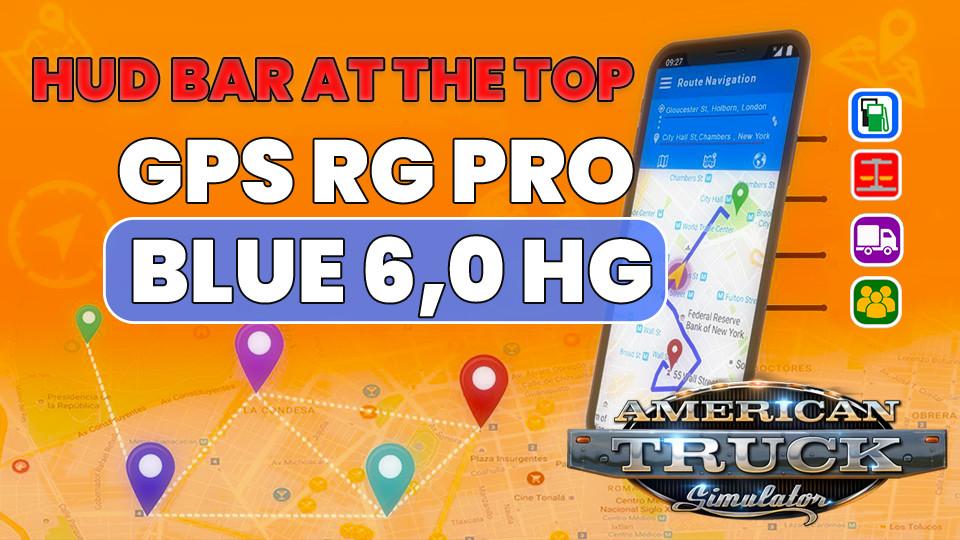 GPS RG PRO BLUE HG