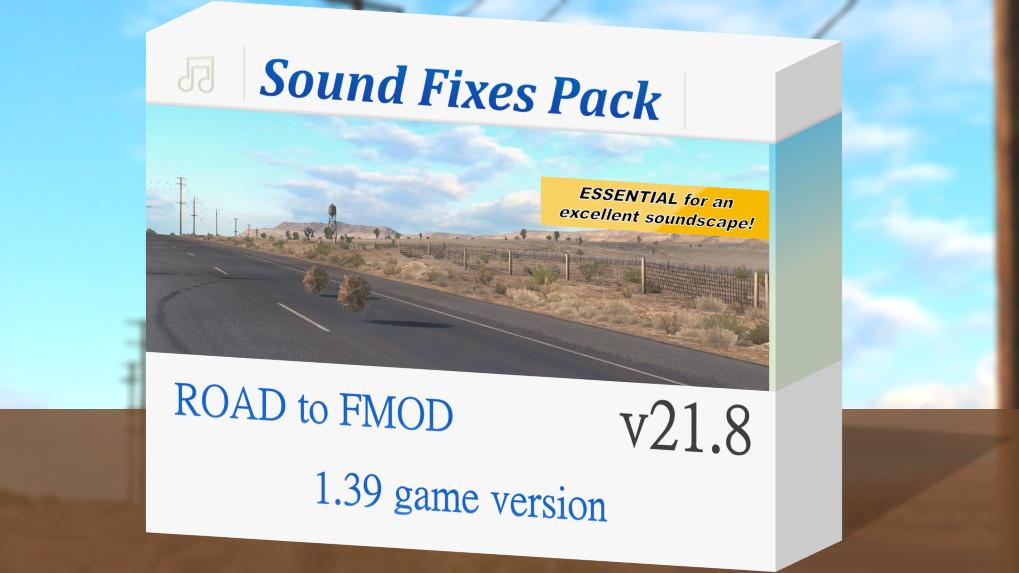 Sound Fixes Pack v20.63 ATS 1.39