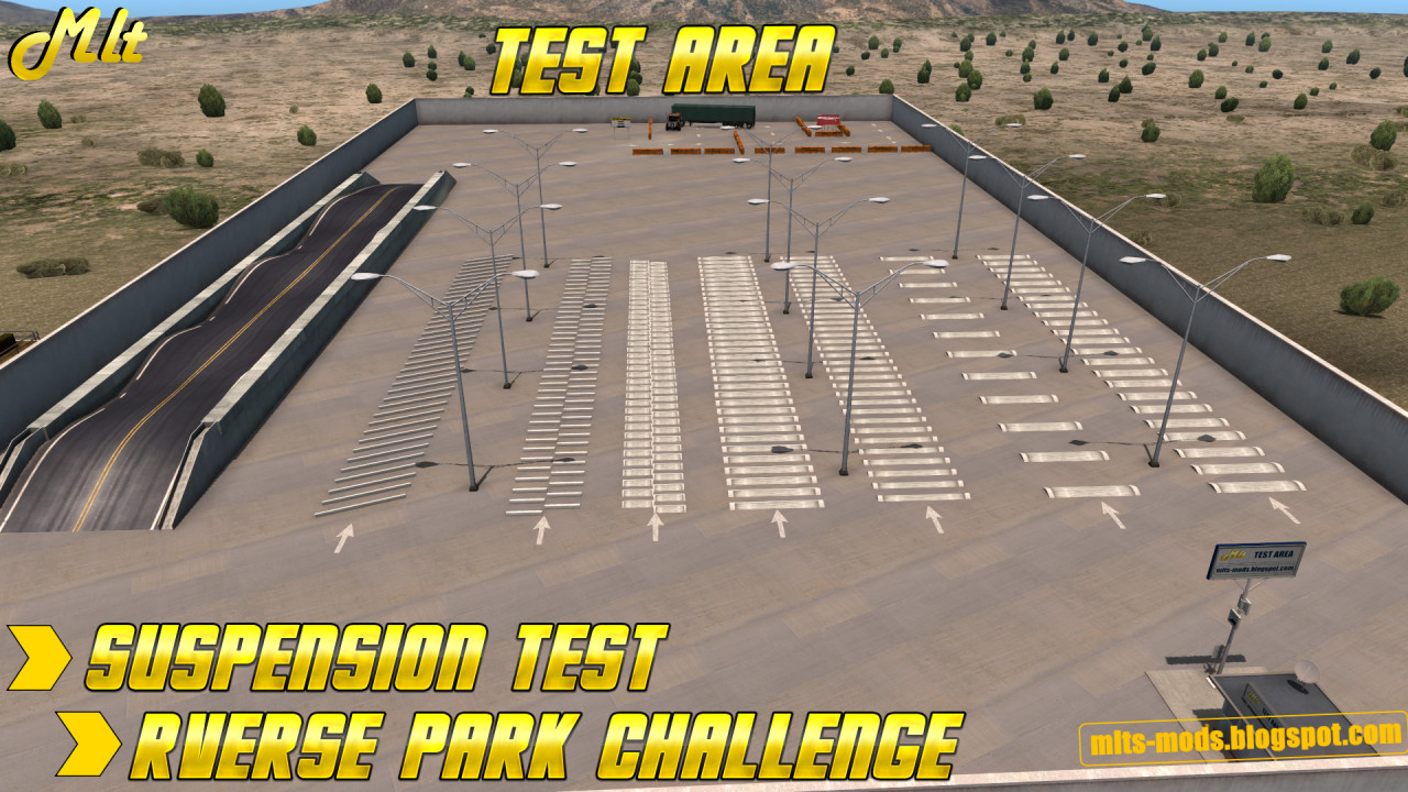 Test Area & Reverse Park Challange Area ATS by MLT