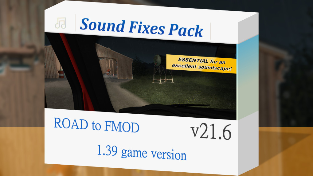 Sound Fixes Pack v20.63  ETS2