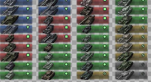 KupJones reversible icons