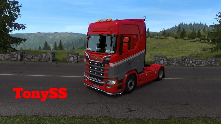 Scania S LavaRed