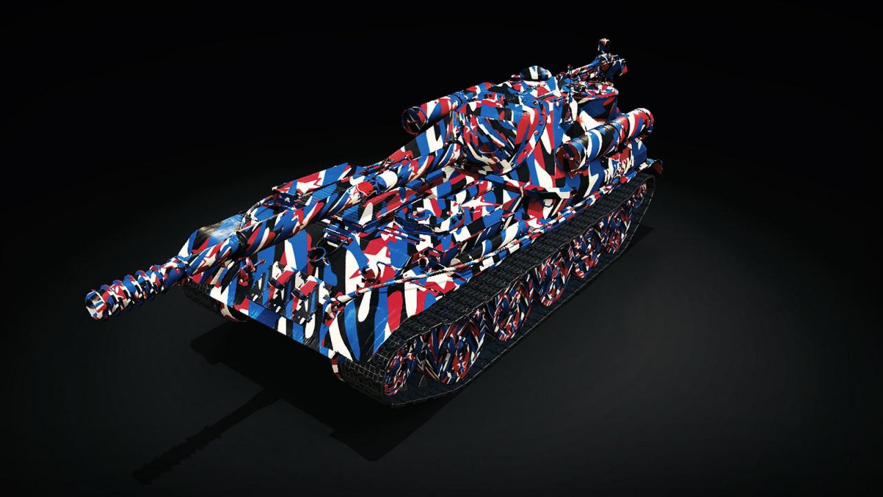 Patriotic Camouflage Skin: USSR VIII SU-101