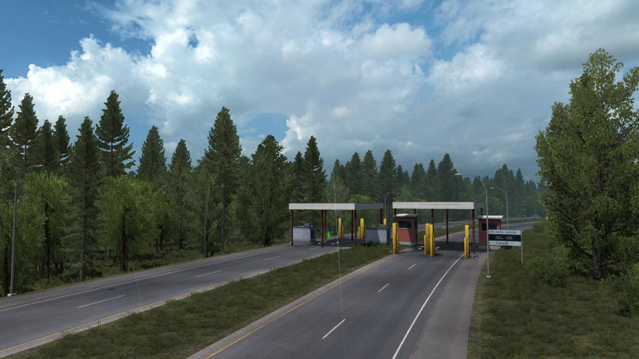 Peace Arch Border Crossing
