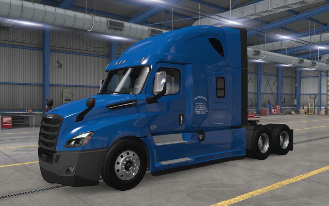 CM Trucking skin