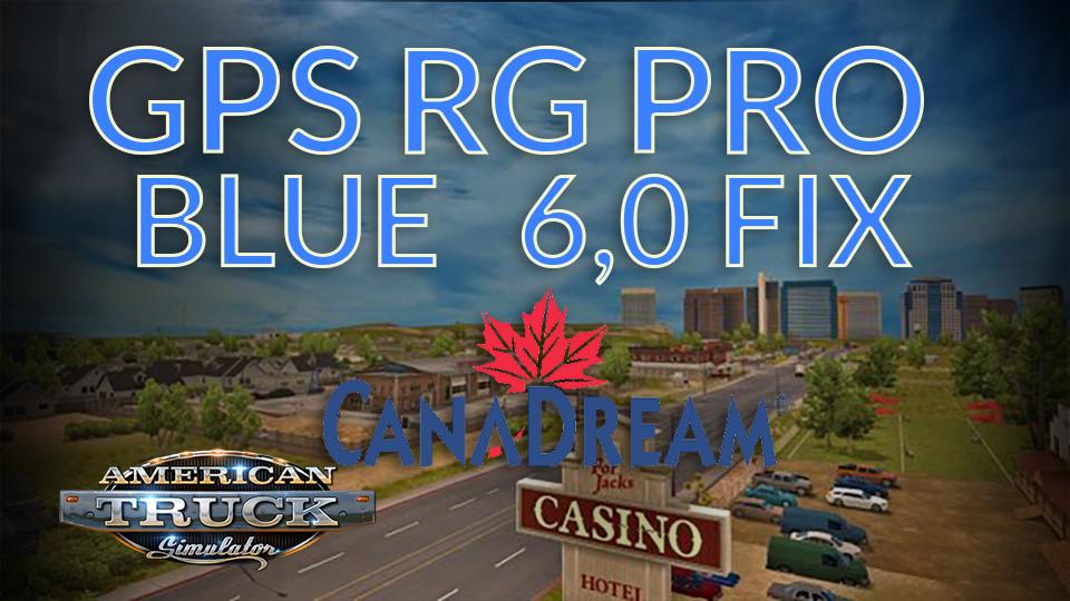 GPS RG PRO BLUE FIX CanaDream