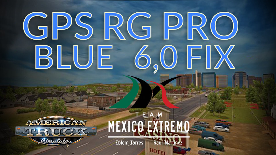 GPS RG PRO BLUE FIX Mexico Extremo