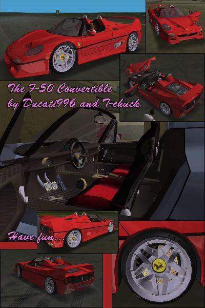 "Ferrari F-50 Convertible ""Special Edition"""