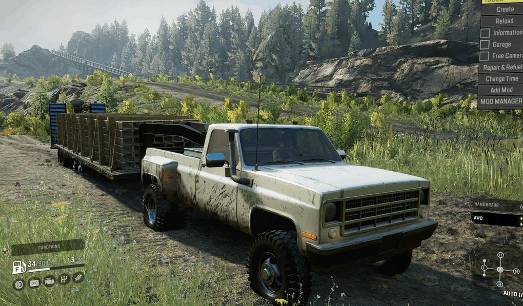 Delta Pickup with Gooseneck Trailer