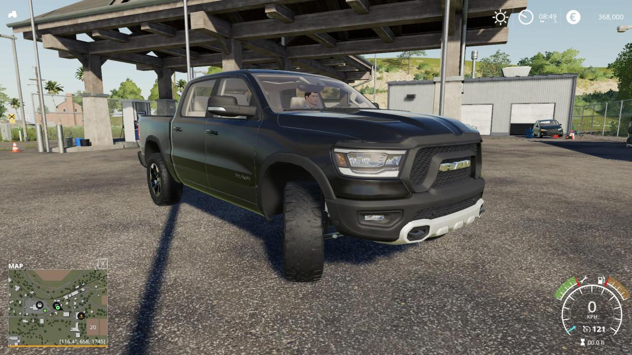 Dodge hellcat truck