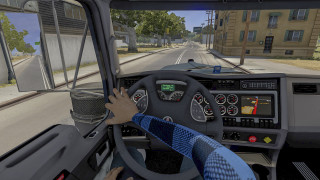 Interior Driver Mod [ANIMATED HANDS] - ATS 1.39,1.40