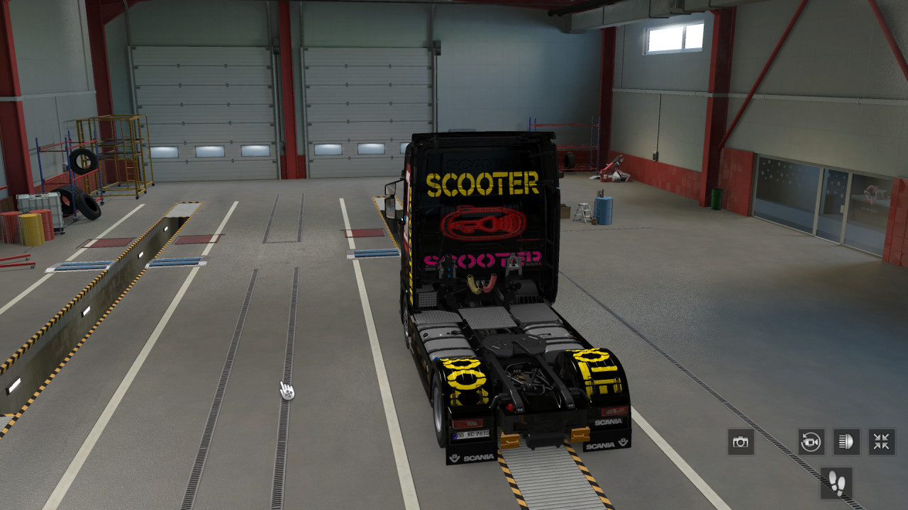Scooter Truck