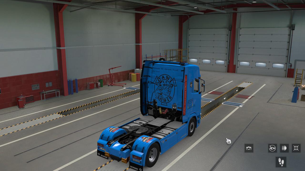 Mr German Truck On tour