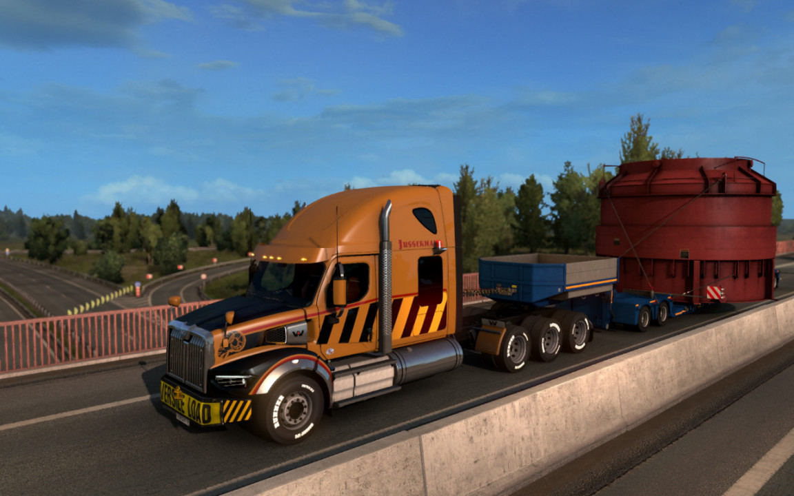 Western Star 49x for ETS2 1.39 and 1.40