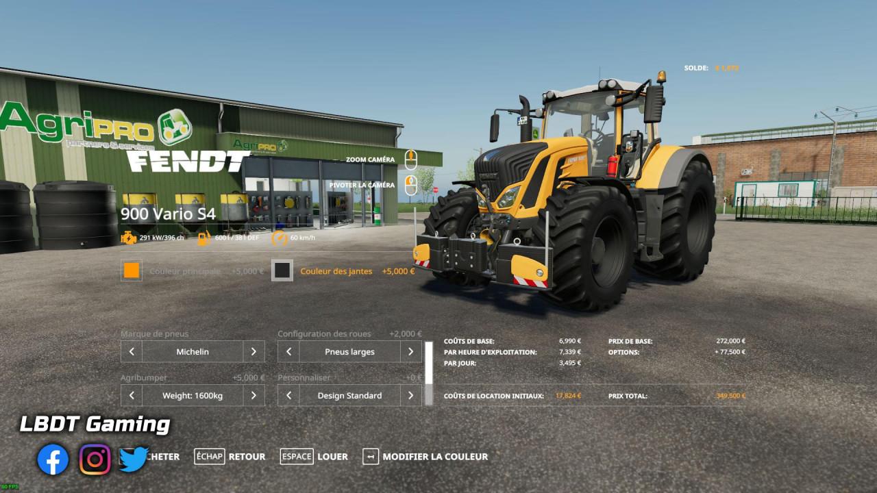 Fendt 900 Vario S4 - LBDT Gaming Edition
