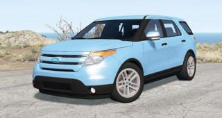 Ford Explorer Limited (U502) 2011